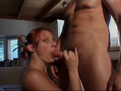 Picture A blowjob will help redhead to sing better