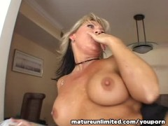 Picture Blonde Milf get fucking in her hole