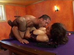Picture He kisses her feet while she jacks off HER c...