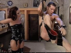 Picture Hot Dominatrix fucking her Man