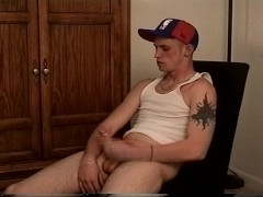 Picture Raunchy dude shooting cum