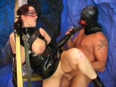 Picture Big tits cum out of latex