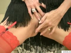 Picture Horny housewife masturbation