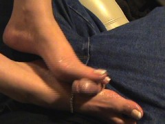 Picture Hot Footjob