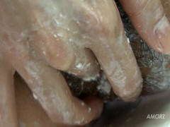 Picture Soapy Shower Tease