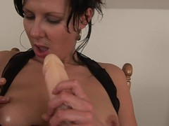 Picture Hot MILF Naomi with a dildo - CzechSuperStar