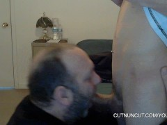 Picture BEAR SUCKING A TWINK AND SWALLOW