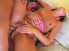 Picture Ashley blue double anal