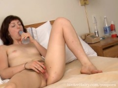 Picture Hairy Serena makes up for lost time with a p...