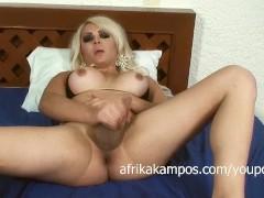 Picture Afrika Kampos in a bikini