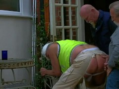 Picture Dad worker used by two Hot Daddies