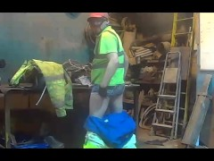 Picture Dirty Worker Hiviz Green Solo