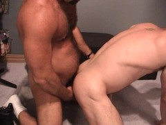 Picture Hairy Muscle Bear Fucks His Cub - Factory Vi...
