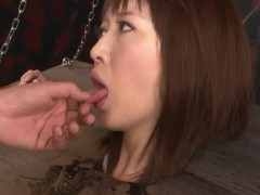 Picture Kinky asian girl bound and face-fucked - Dre...