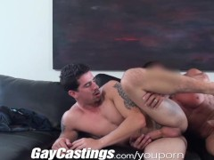 Picture Gay Castings Straight stud fucked on cam for...