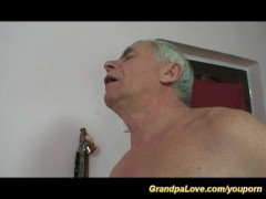 Picture Granpa gives sex surprise