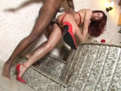 Picture Petite Shemale Gets Rammed - Candy Shop
