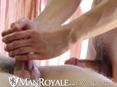 Picture ManRoyale Cute guy gets massaged and fucked