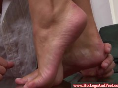 Picture Victoria Blaze has feetworshipped