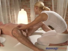 Picture Massage Rooms Blonde masseuse squirts everyw...