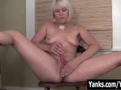 Picture Small Titted Fallon Fingering Her Pussy