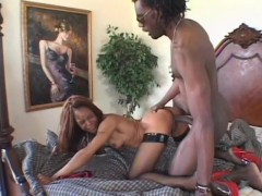 Picture Black Chick Gets Nailed On Bed- Hot Chocolat