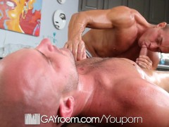 Picture HD GayRoom - Johnathan gets hardcore massage...