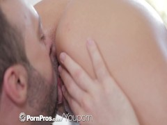 Picture HD PornPros - Euro girl Lana gets oiled up