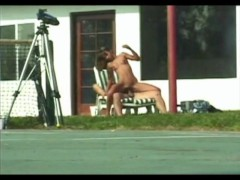 Picture Girl gets eaten outdoors - Java Productions