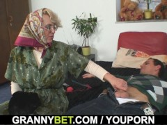 Picture Lonely 60 years old granny pleases a strange