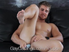 Picture HD GayCastings - Muscular texas boy fucked o...