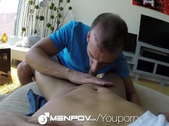 Picture HD MenPOV - Hunk picks up a guy for a backse...