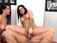 Picture Wicked - Jade and Karma in hot threesome