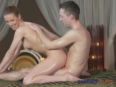 Picture Massage Rooms Shaved nympho girl gets a good...