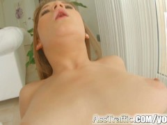 Picture Ass Traffic Ukranian Young Girl 18+ gets ana