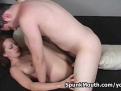 Picture Redhead naughty amateur Tabitha gets nasty f...