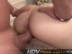 Picture HDVPass Cristina Agave gives blowjob and fuc...