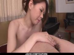 Picture China Mimura provides steamy POV blwojob