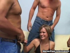 Picture Claire Robbins interracial gangbang