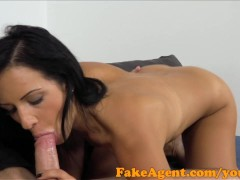 Picture FakeAgent Black haired german babe wants to...