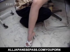 Picture Chiharu Okuna gets fingers in licked cunt an...