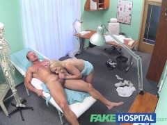 Picture FakeHospital Blonde with nice tits gets a fu...