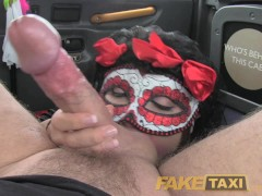 Picture FakeTaxi Lady in fancy dress does anal on ha...