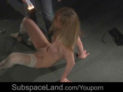 Picture Blonde hot 20y-Girls merciless treated in bd...