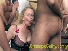 Picture Alanna And Cathy Eat A Creampie