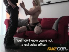 Picture Fake Cop Fulfilling her sexual fantasy with...