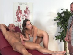Picture Jade Nile Has Her Husband Suck Dick and Watc...