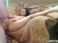 Picture Cum loving brunette wants an anal creampie