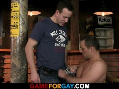 Picture Barman s first gay sexual experience