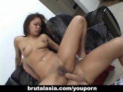 Picture Annie Cruz receiving a double cock fucking